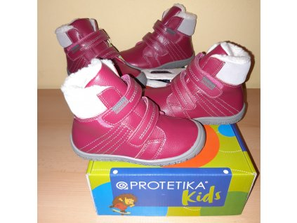 Protetika barefoot zimní obuv ARTIK fuxia