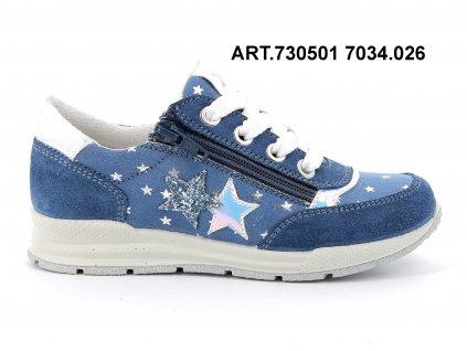 IMAC dívčí celoroční obuv CUBIC bluette