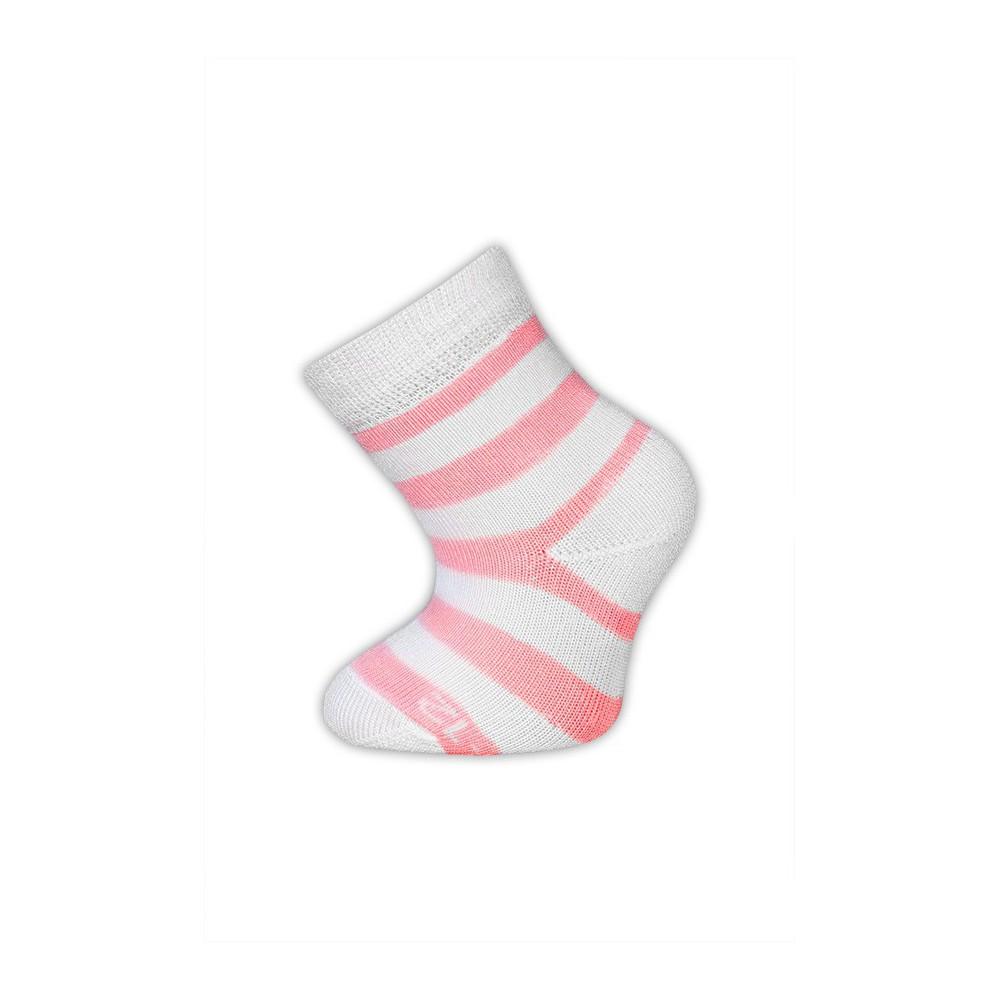 Trepon bambusové ponožky Babárek vel.19-22 m Barva: Růžová
