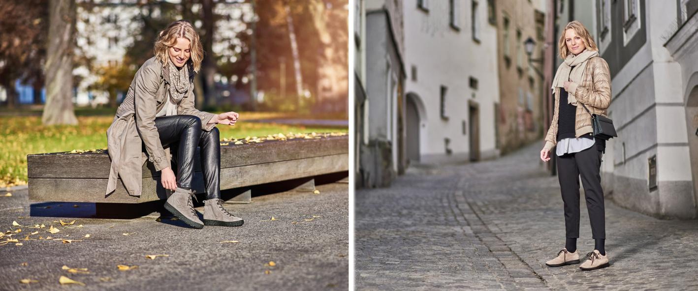 Zdravá obuv pro volný čas