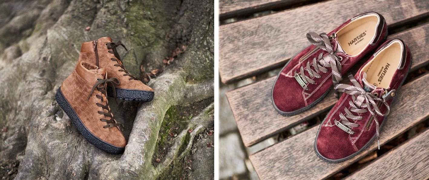 Zdravá obuv v trendy barvách