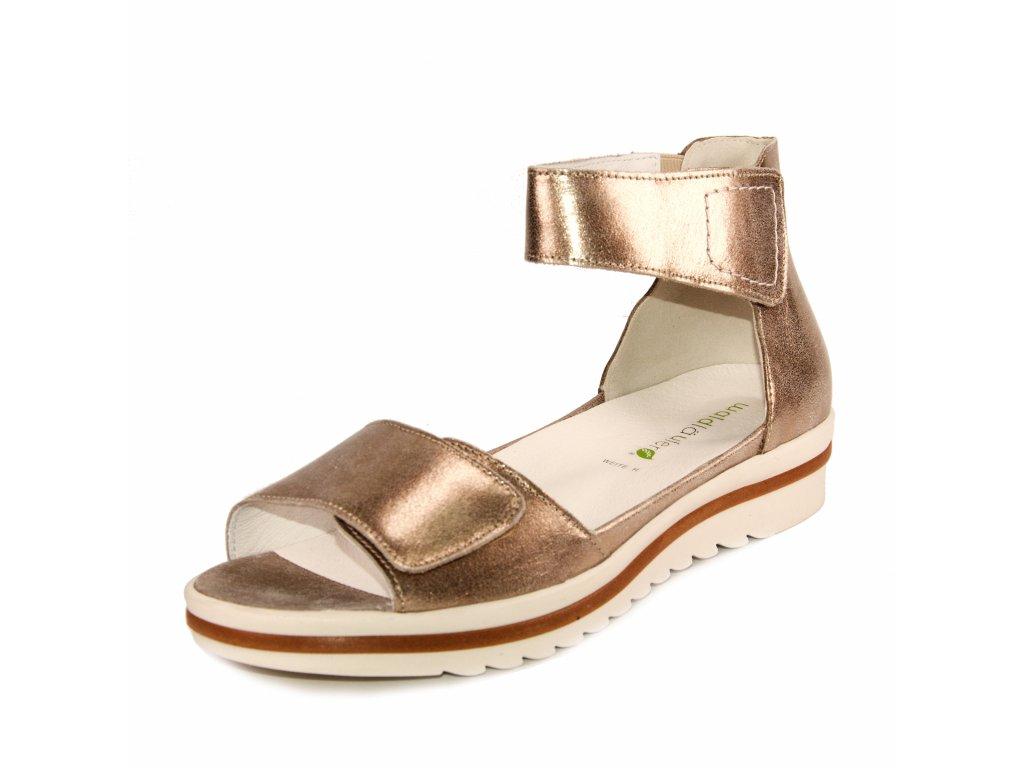 Dámské sandále Waldläufer artikl 351005 131 102 zlaté