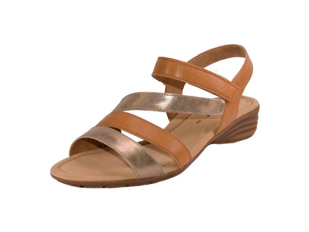 Dámské sandále Gabor artikl 24.551.68 hnědo-bronzové