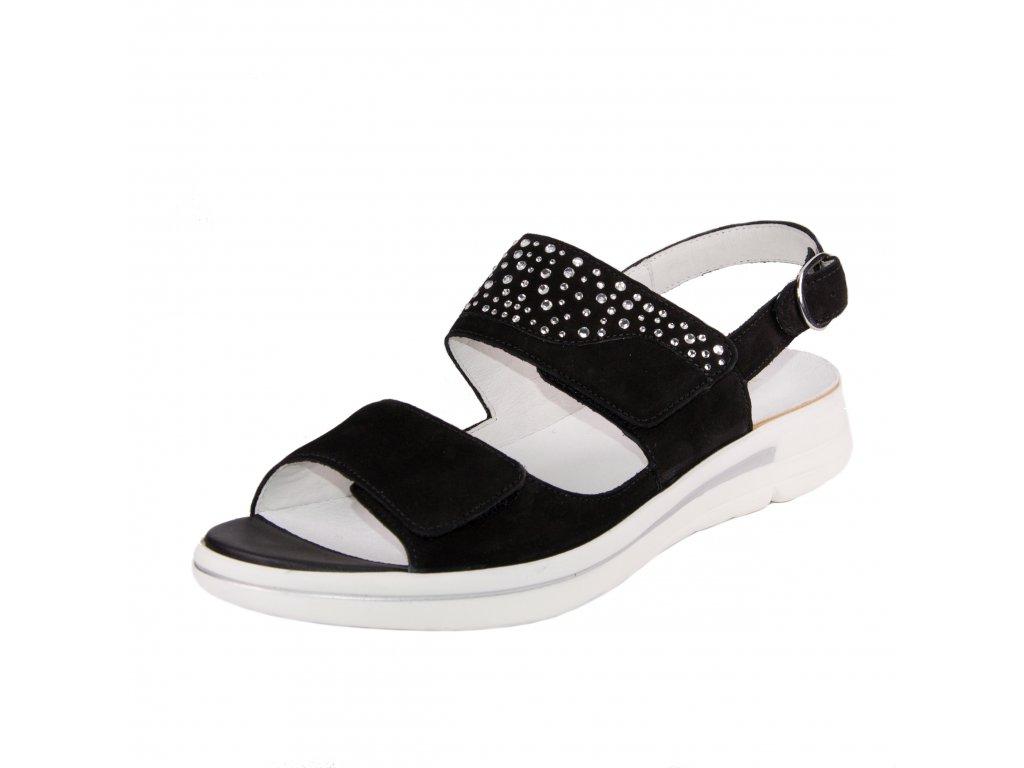 Dámské sandále Waldläufer artikl 922002 162 001 černé