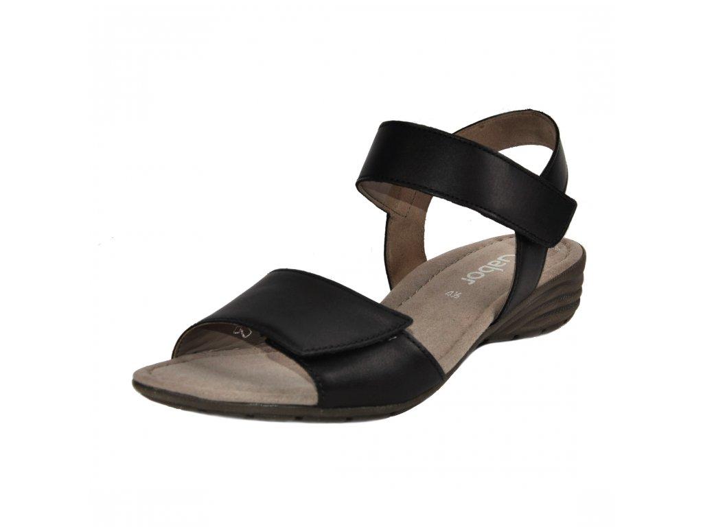 Dámské sandále Gabor artikl 44.552.27 černé