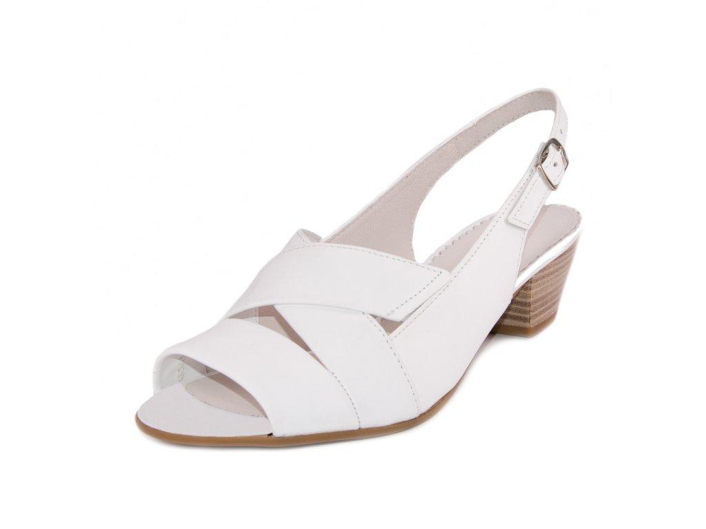 Dámské sandále Gabor artikl 46.571.50 bílé