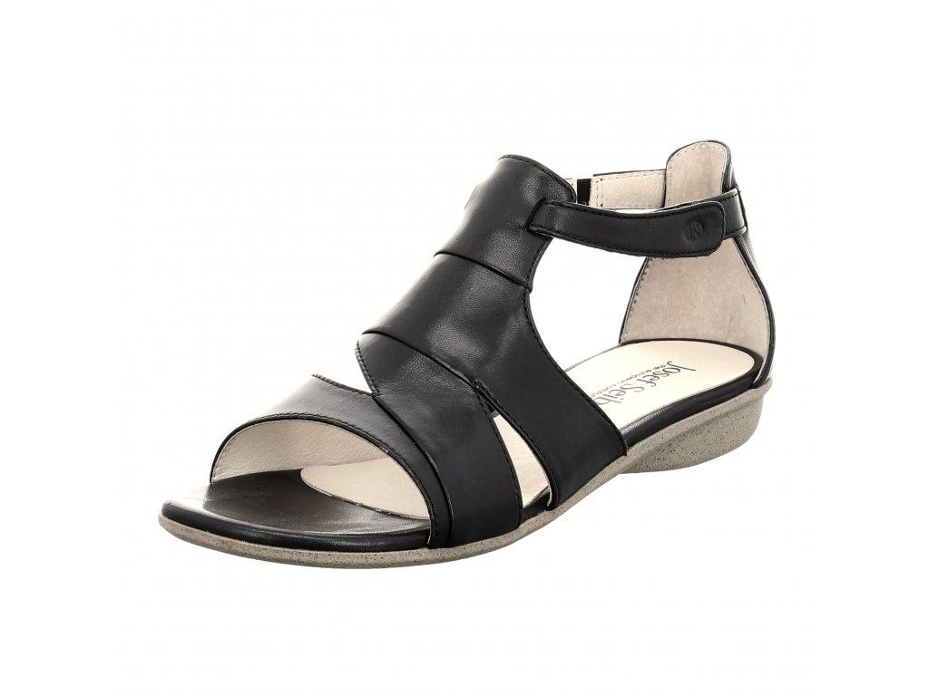 Dámské sandále Josef Seibel artikl 87505 852 101 černé