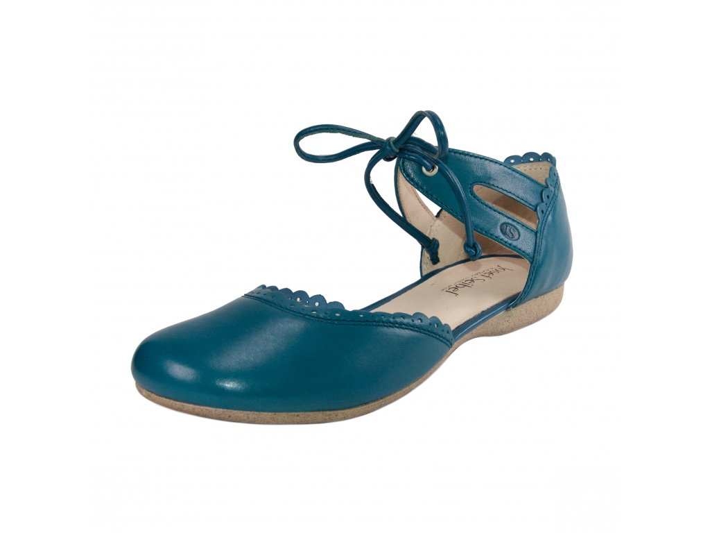 Dámské baleríny Josef Seibel artikl 87247 971 500 modré