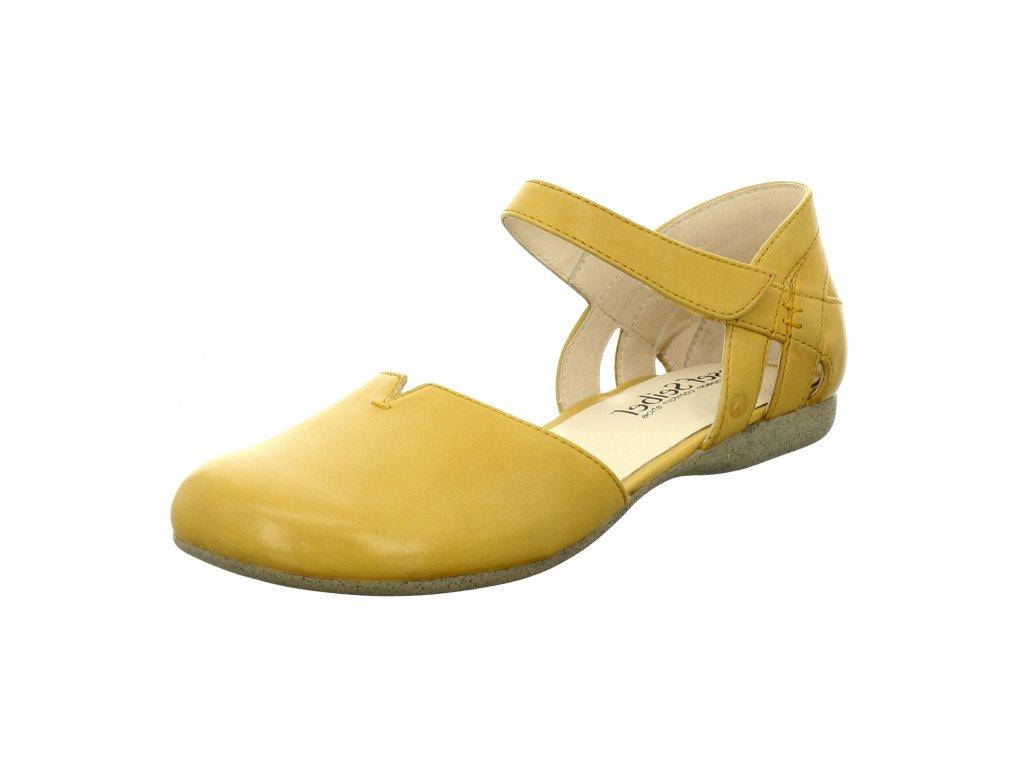 Dámské baleríny Josef Seibel artikl 87267 971 800 žluté