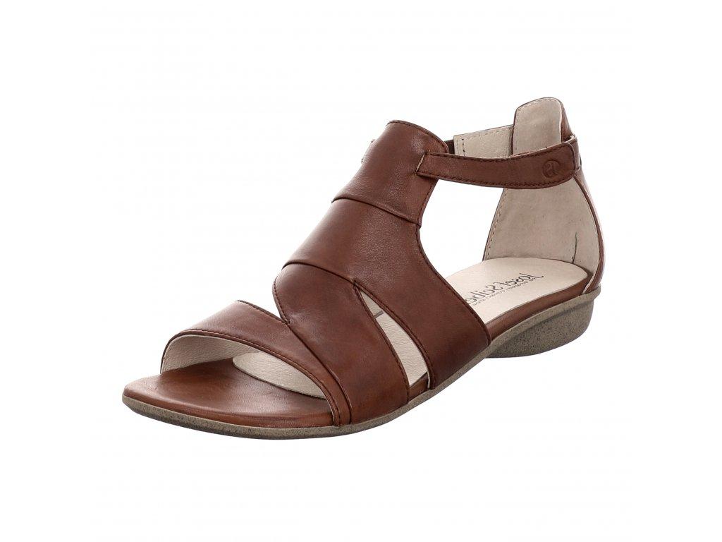 Dámské sandále Josef Seibel artikl 87503 971 340 hnědé