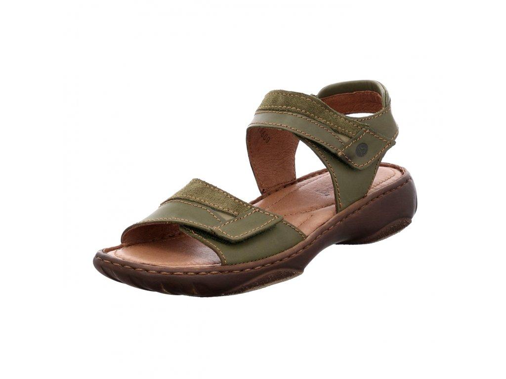 Dámské sandále Josef Seibel artikl 76719 87313 630 olivové