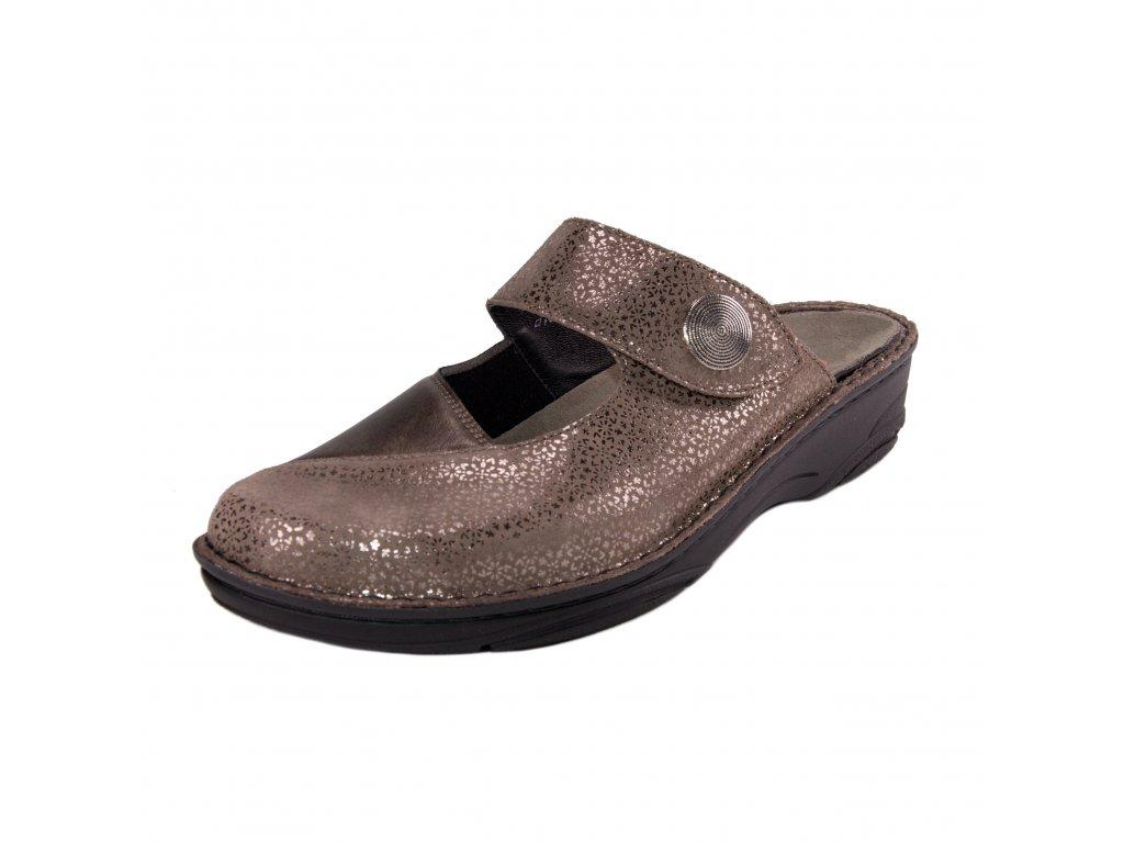 Dámské pantofle Berkemann artikl 03457 623 bronzové