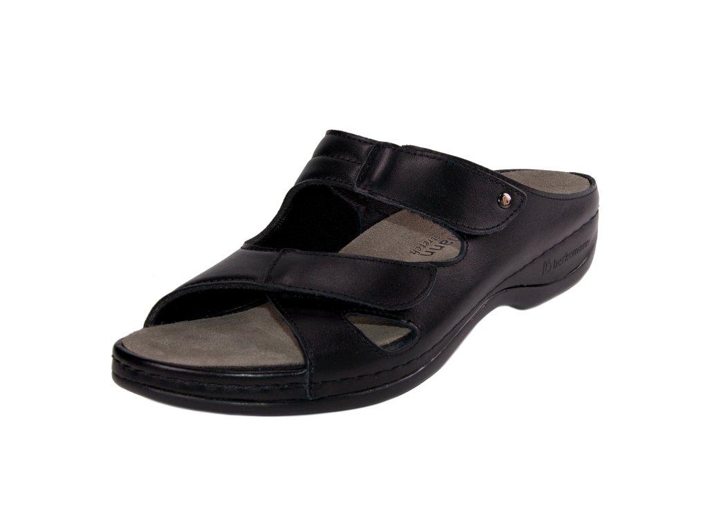 Dámské pantofle Berkemann artikl 01027 906 černé