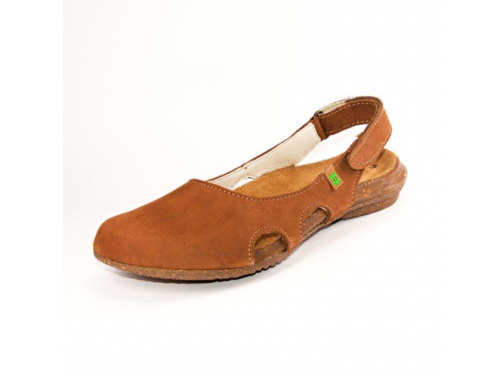 Dámské sandále EL NATURA LISTA artikl N413 Wood