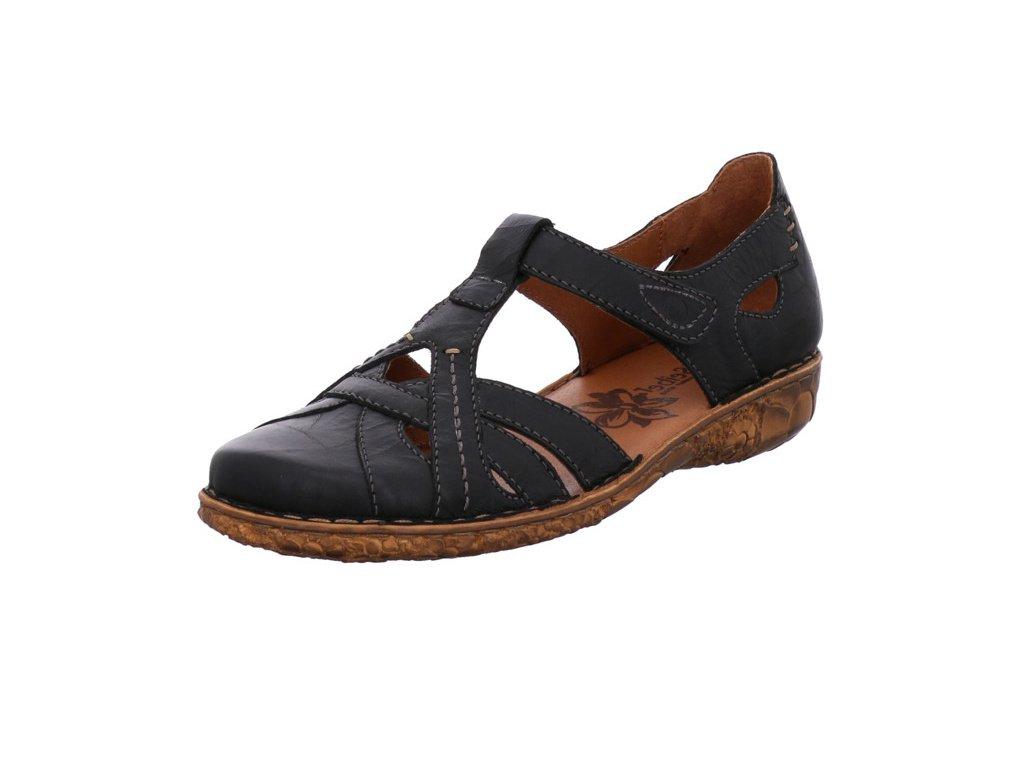 Dámské sandále Josef Seibel artikl 79529 95 100 černé