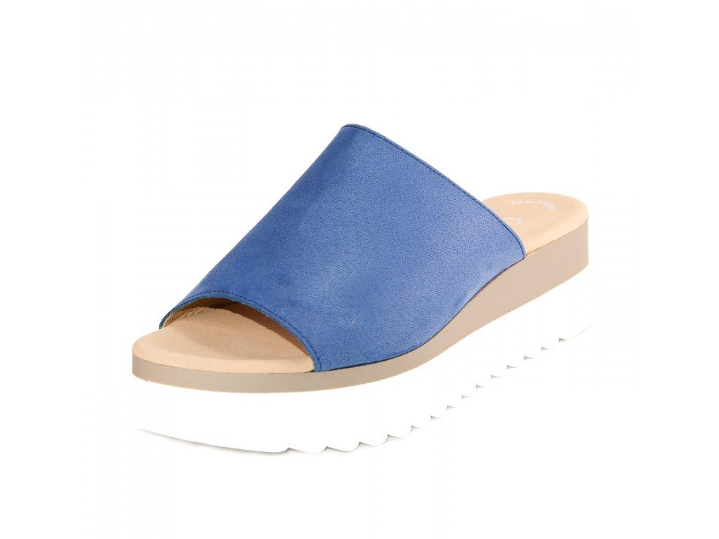 Dámské pantofle Gabor artikl 83.613.35 modrá