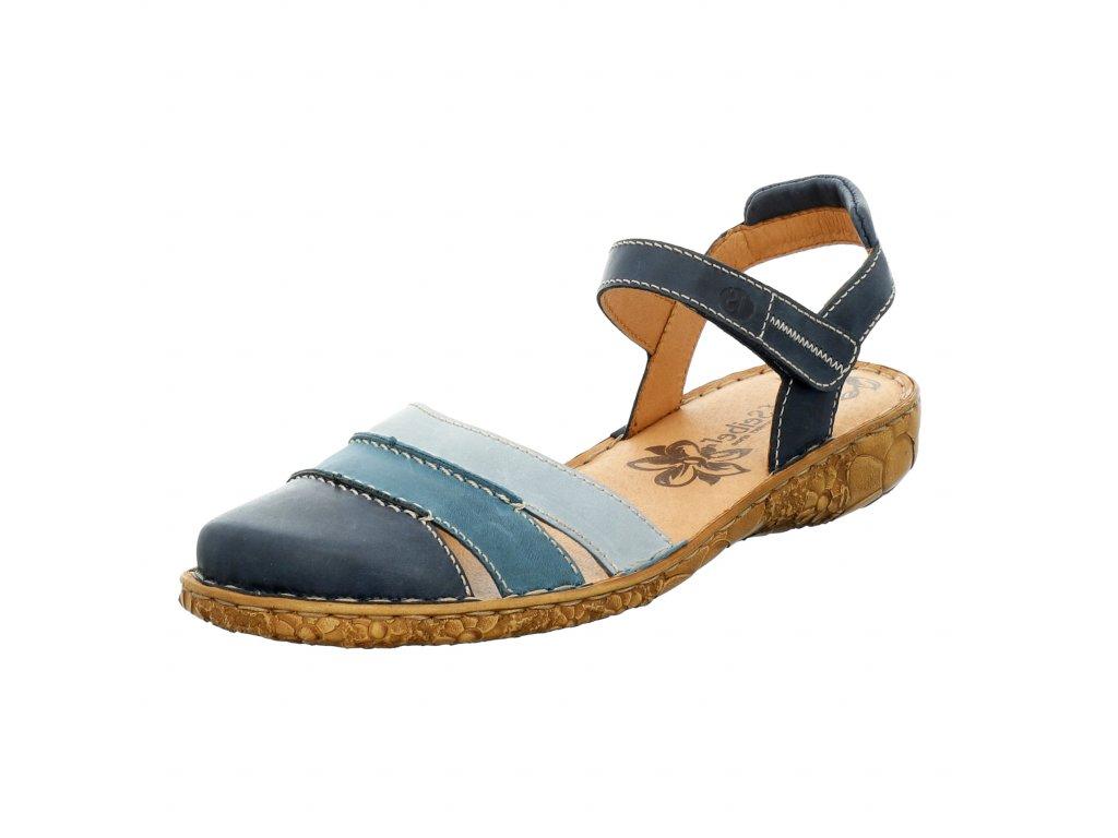 Dámské sandále Josef Seibel artikl 79544 727532 modré