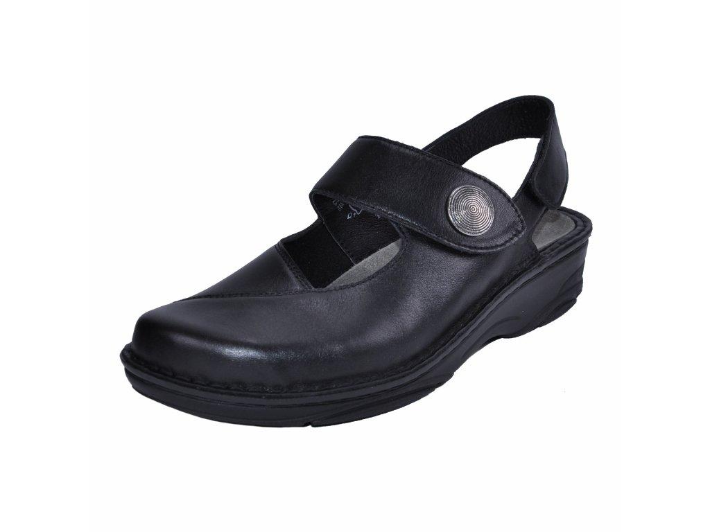 Dámské sandále Berkemann artikl 03461 806 černé