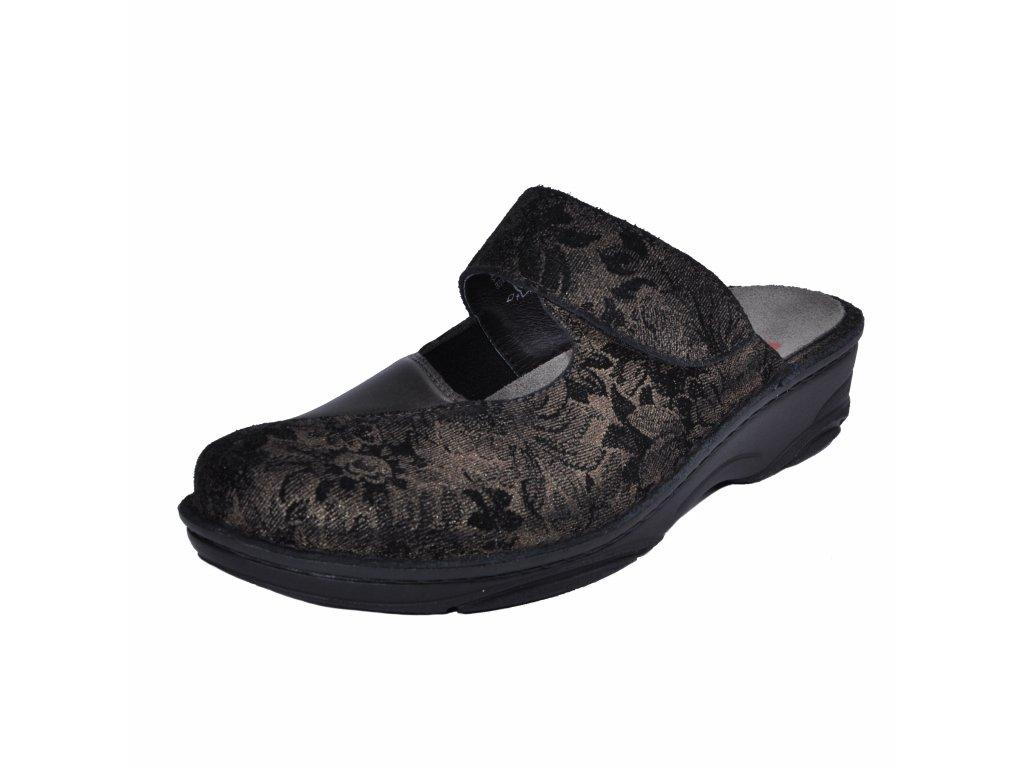 Dámské pantofle Berkemann artikl 03457 608 hnědé