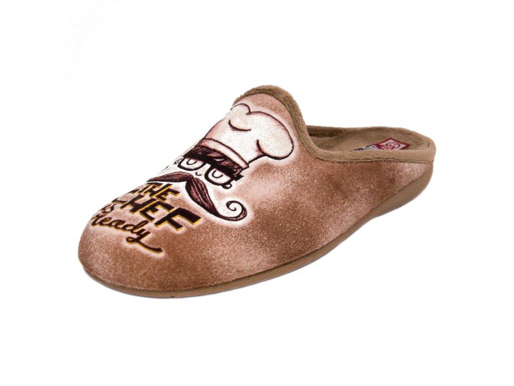Pánské pantofle Gema Garcia artikl 5014-021 šéf