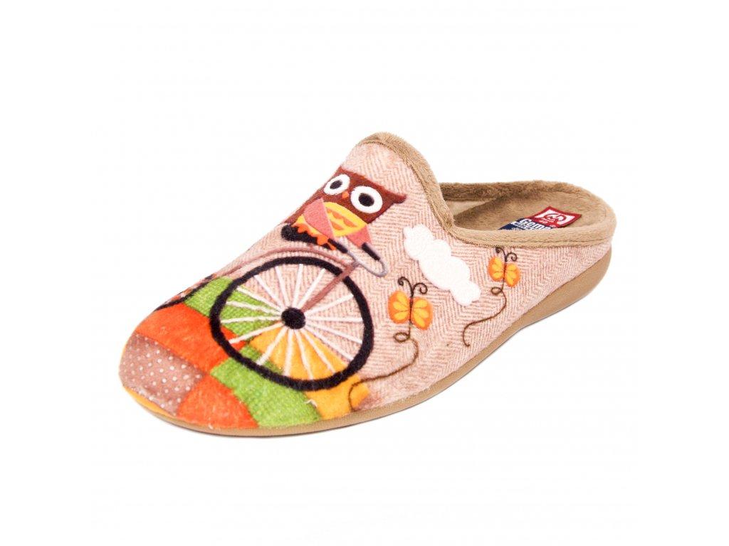 Dámské pantofle Gema Garcia artikl 5002-021 sova