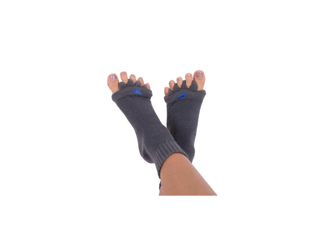 Adjustační ponožky šedá