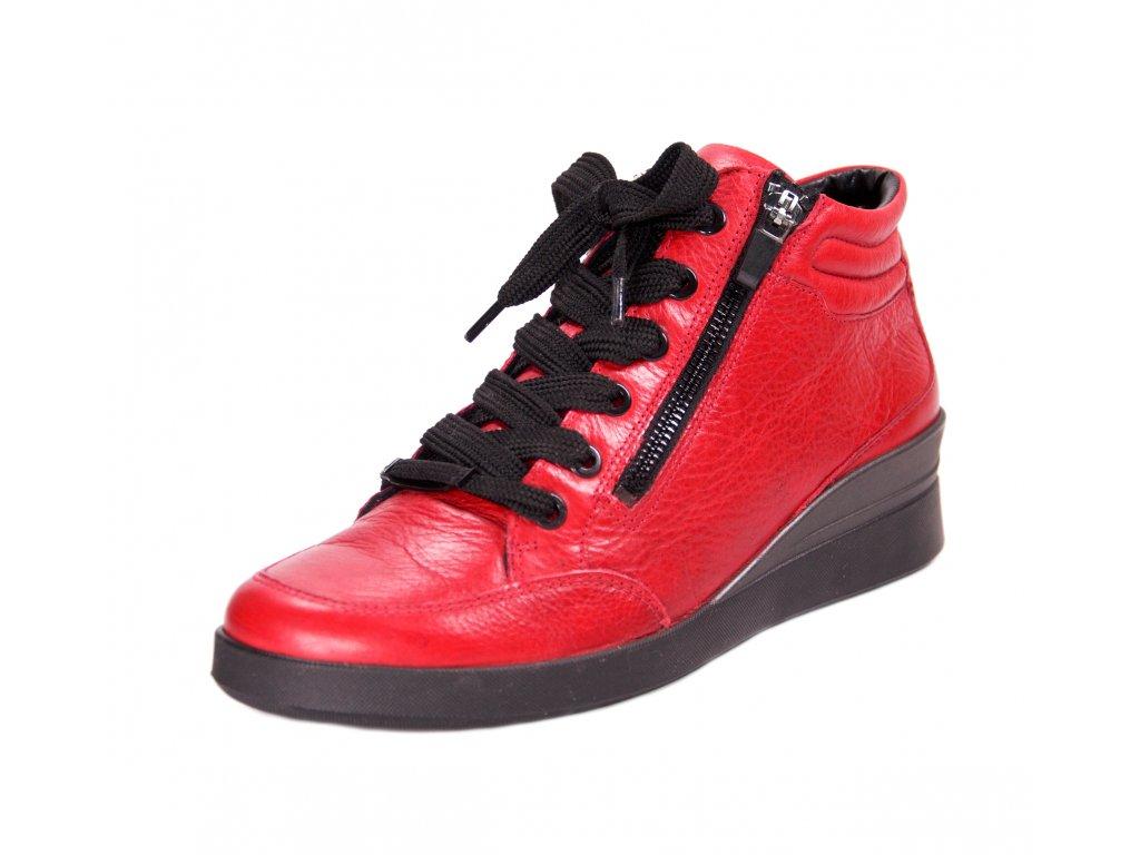 Dámská kotníková obuv ara artikl 43303 73 červená