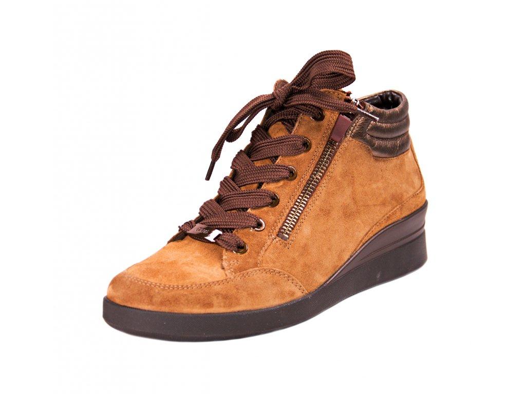 Dámská kotníková obuv ara artikl 43303 70 hnědá
