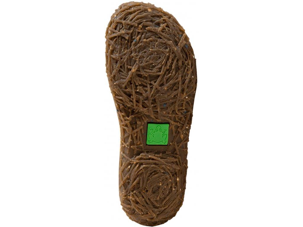 Dámská kotníková obuv  EL NATURA LISTA artikl N758 Olive