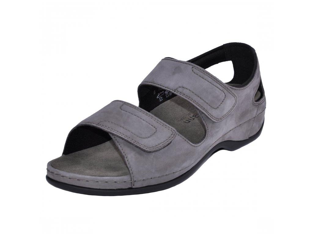 Dámské sandále Berkemann artikl 01045 967 šedé