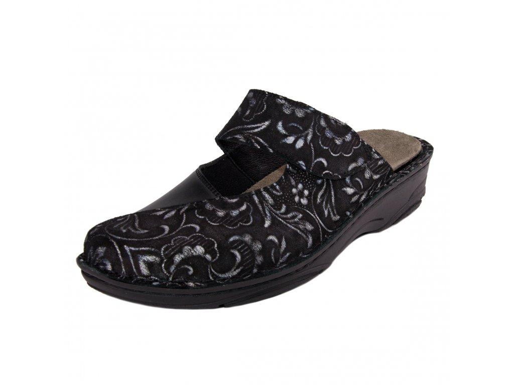 Dámské pantofle Berkemann artikl 03457 391 černé