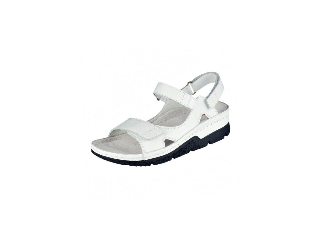 Dámské sandále Berkemann artikl 1158 101 bílé