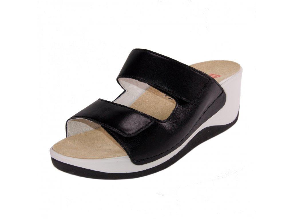 Dámské pantofle Berkemann artikl 01201 901 černé