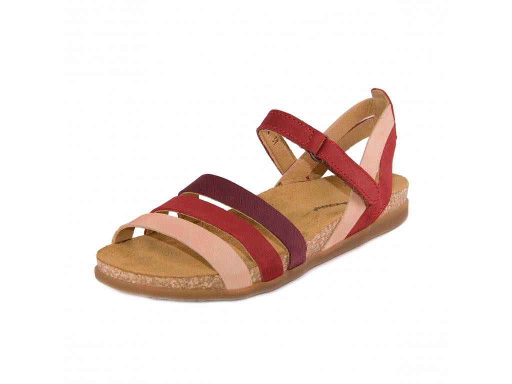 Dámské sandále EL NATURA LISTA artikl 5244 Tibet mixed