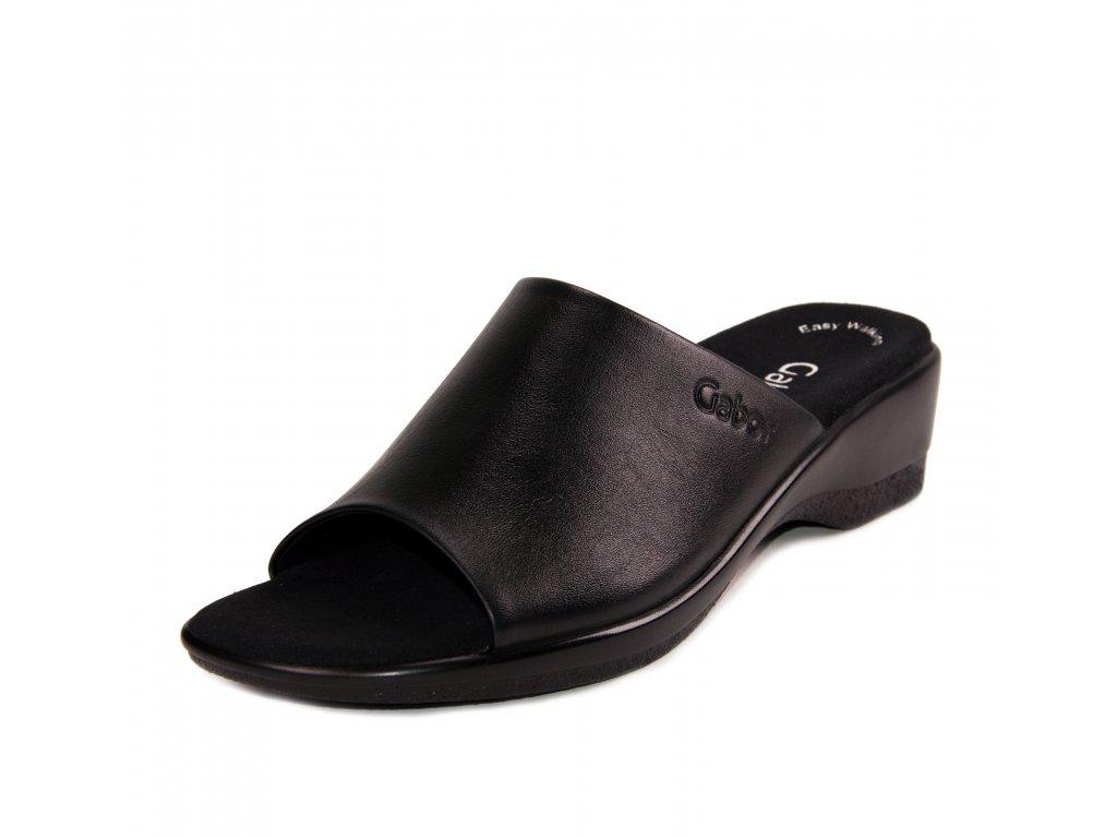 Dámské pantofle Gabor artikl 46.070.57 černé