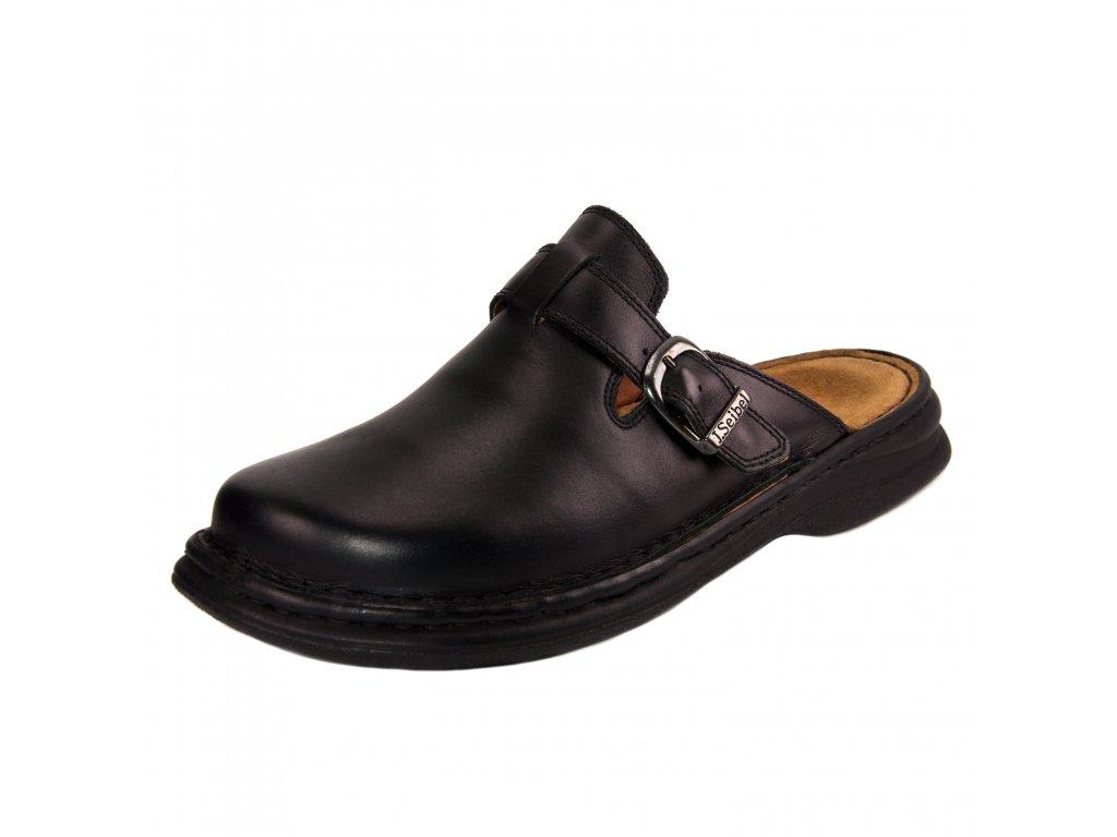 Pánské pantofle Josef Seibel artikl 10122 37 600 černé