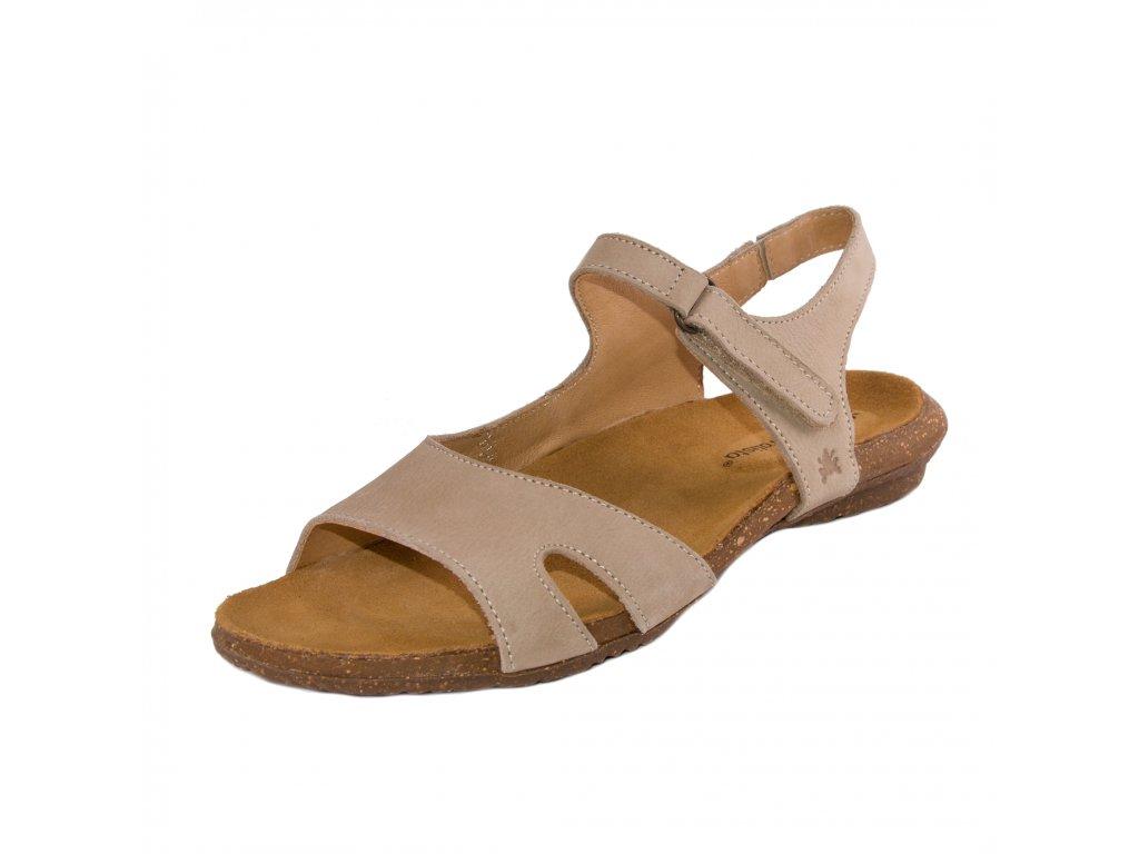 Dámské sandále EL NATURA LISTA artikl 5066 Piedra