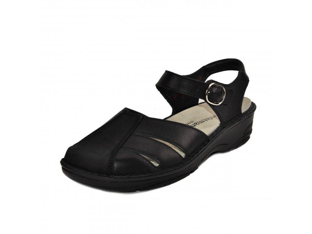 Dámské sandále Berkemann artikl 03417 970 černé