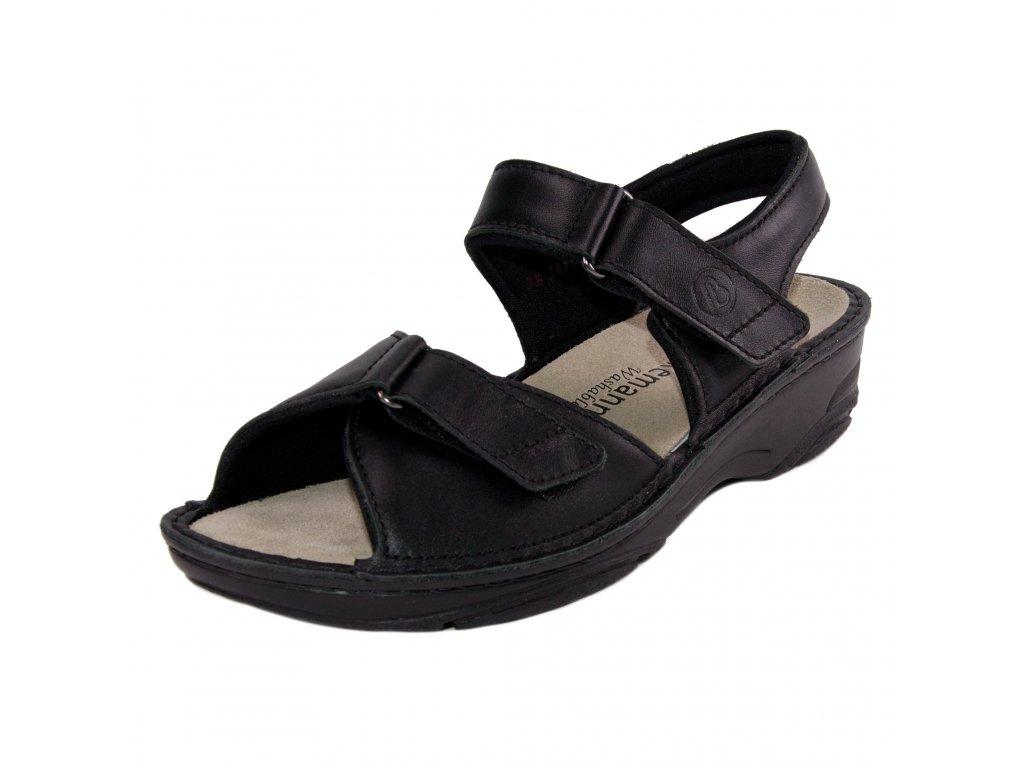 Dámské sandále Berkemann artikl 03415 938 černé