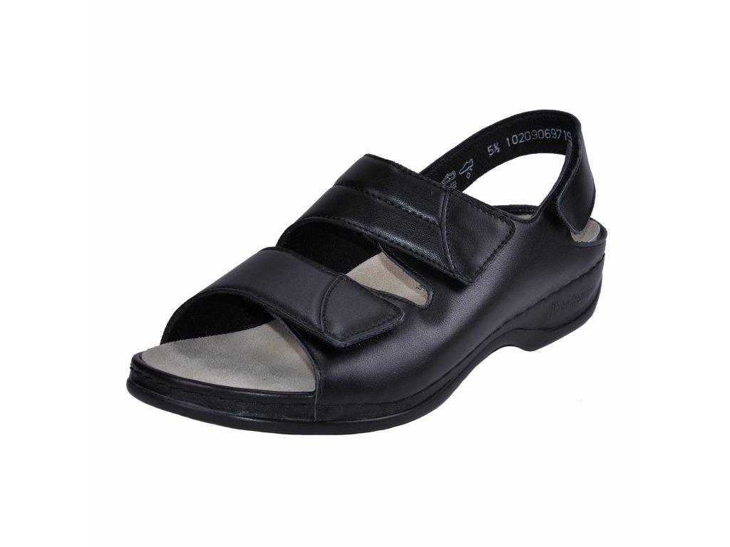 Dámské sandále Berkemann artikl 01020 906 černé