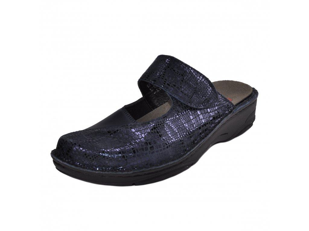 Dámské pantofle Berkemann artikl 03457 382 modré