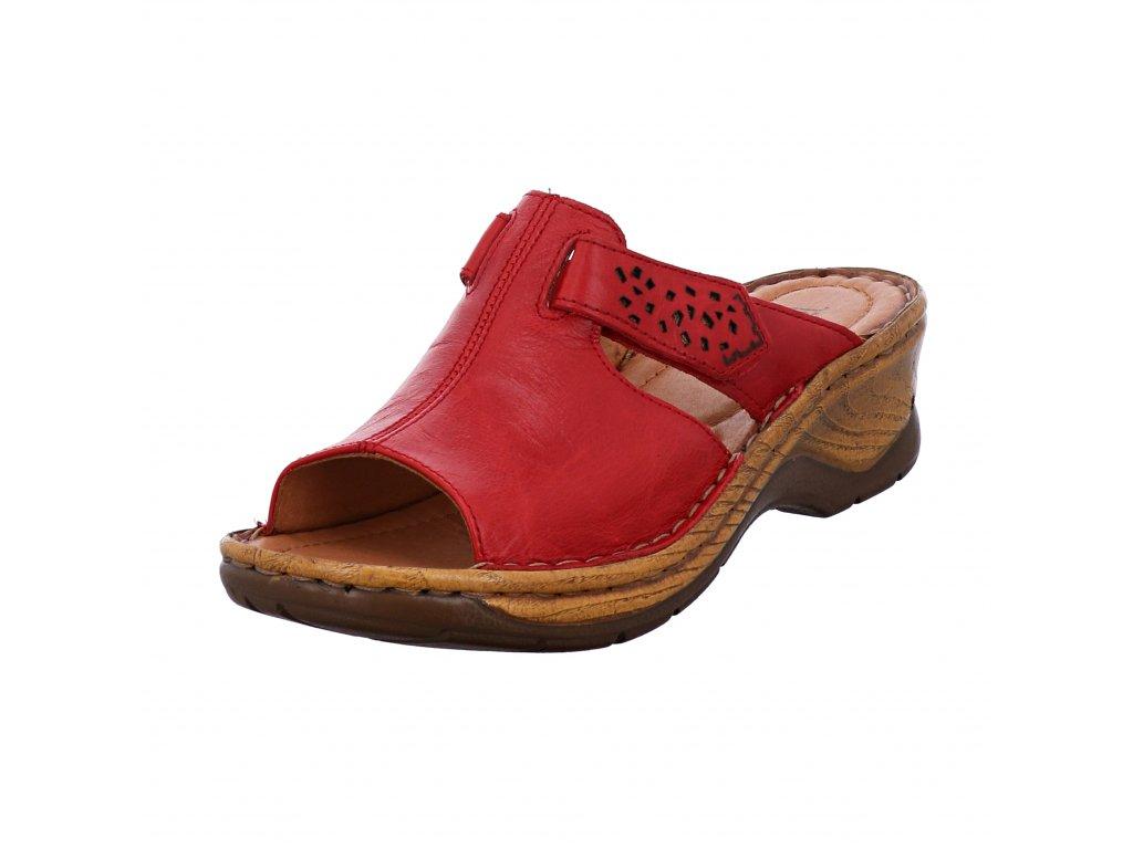 Dámské pantofle Josef Seibel artikl 56496 88 400 červené