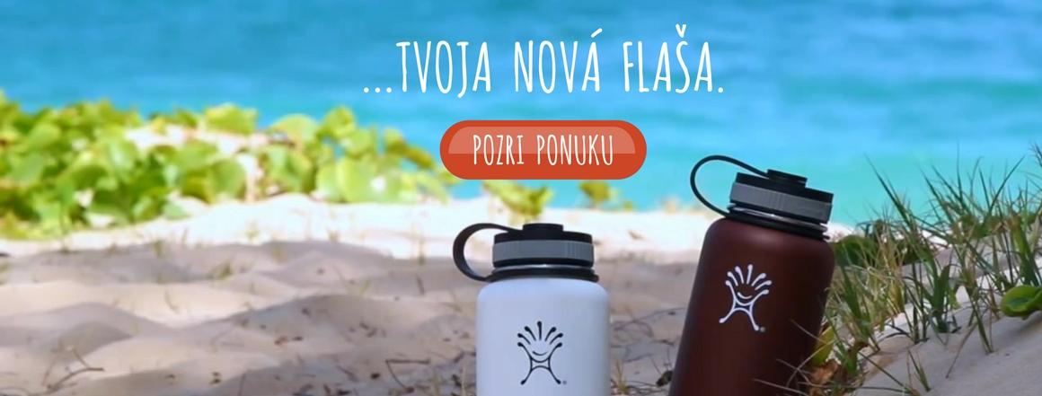 Nová ekologická zdravá fľaša