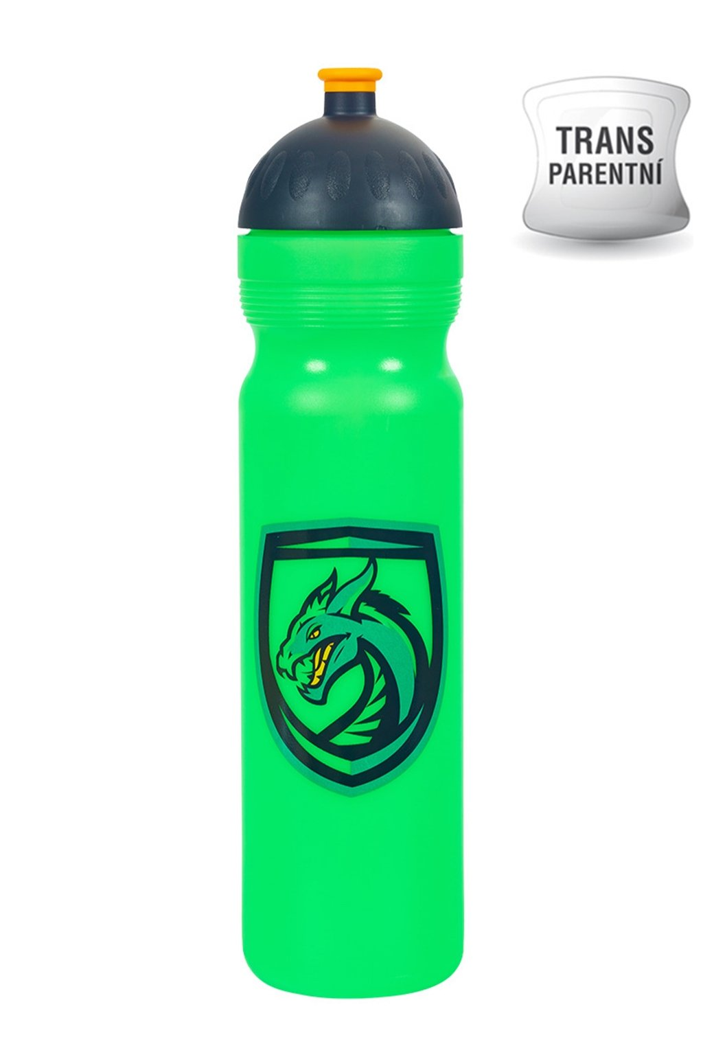 Zdrava flaska na vodu 1L Drak