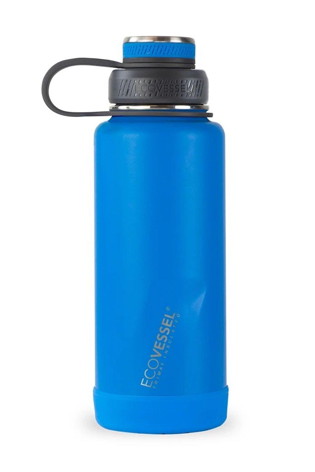 Termoska 1L Eco Vessel vakuova modra