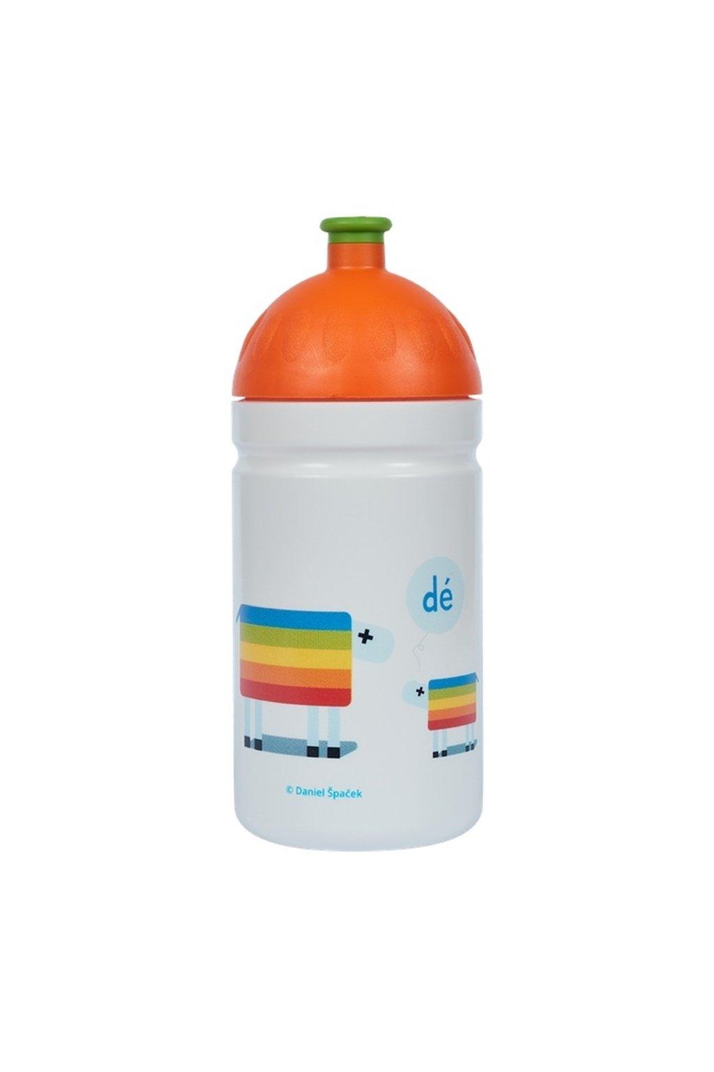 Zdravá fľaša detská 500 ml déčko ovečky