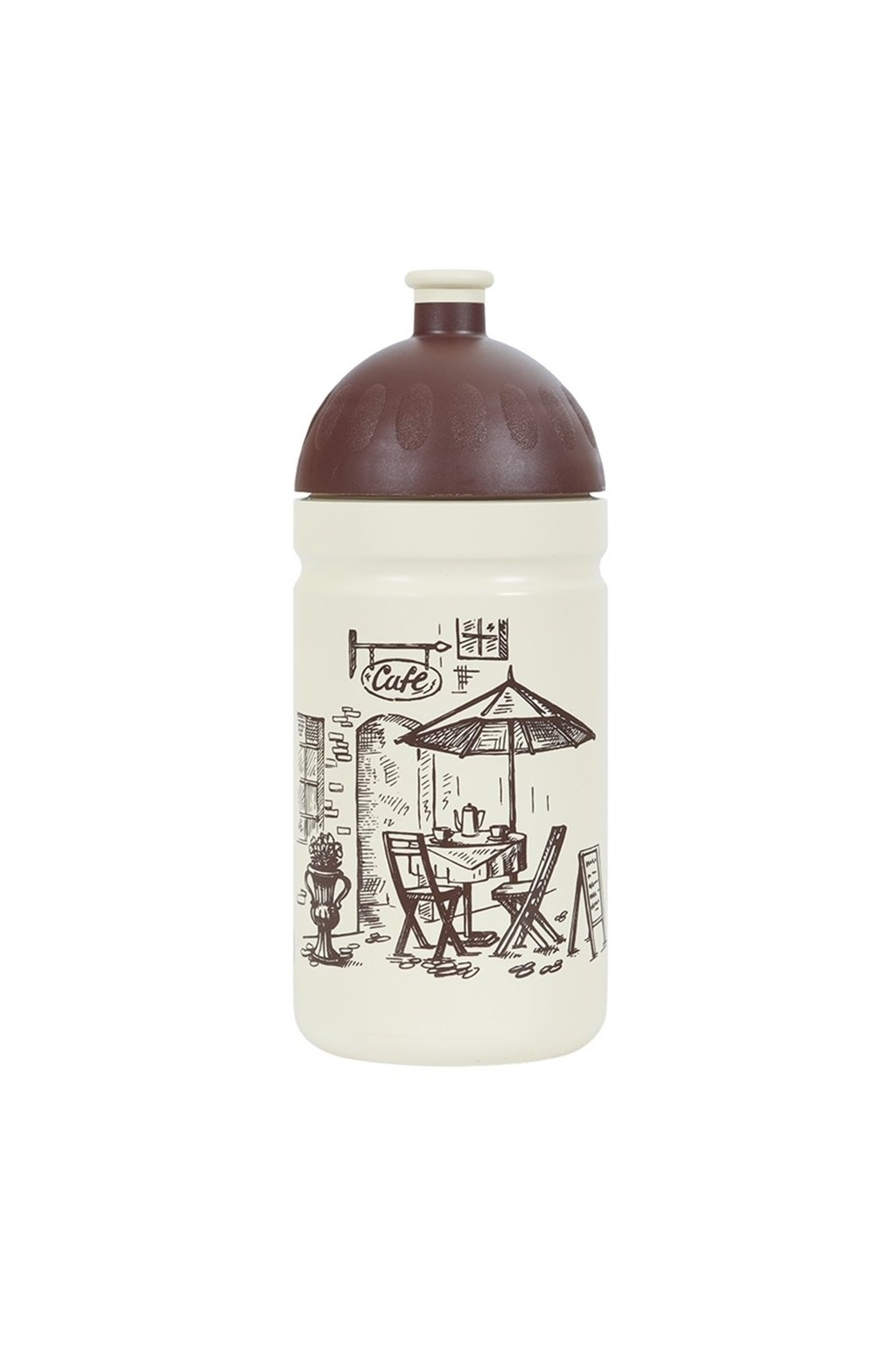 Zdravá fľaša detská 500 ml káva