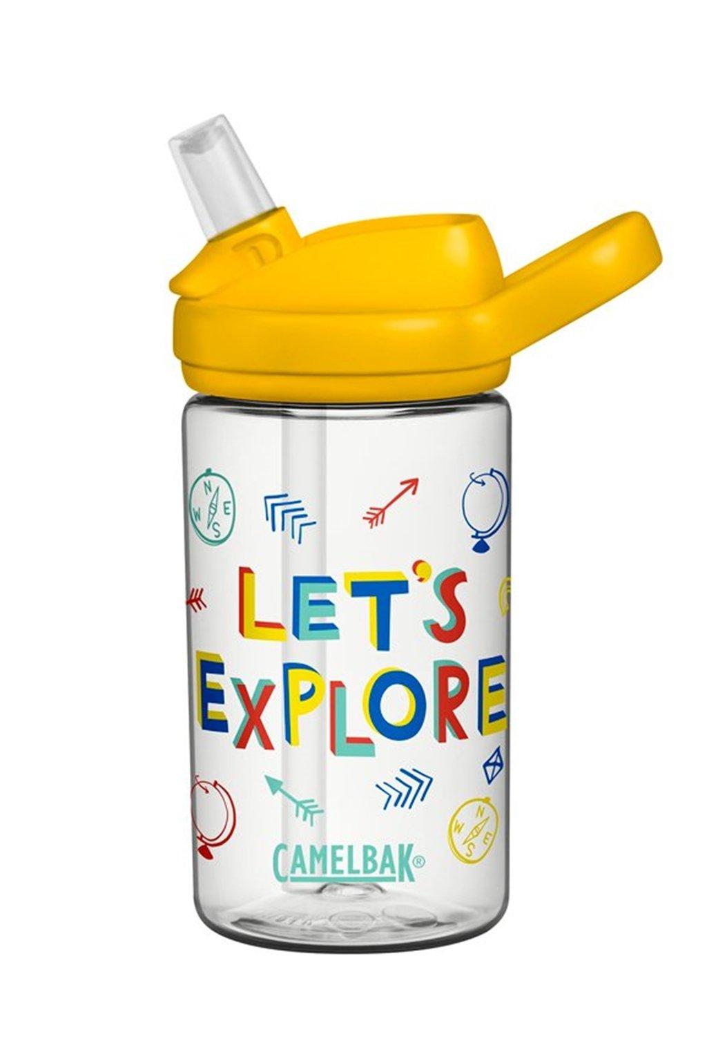 Flaska pre deti CamelBak Eddy Kids 0,4l Lets Explore