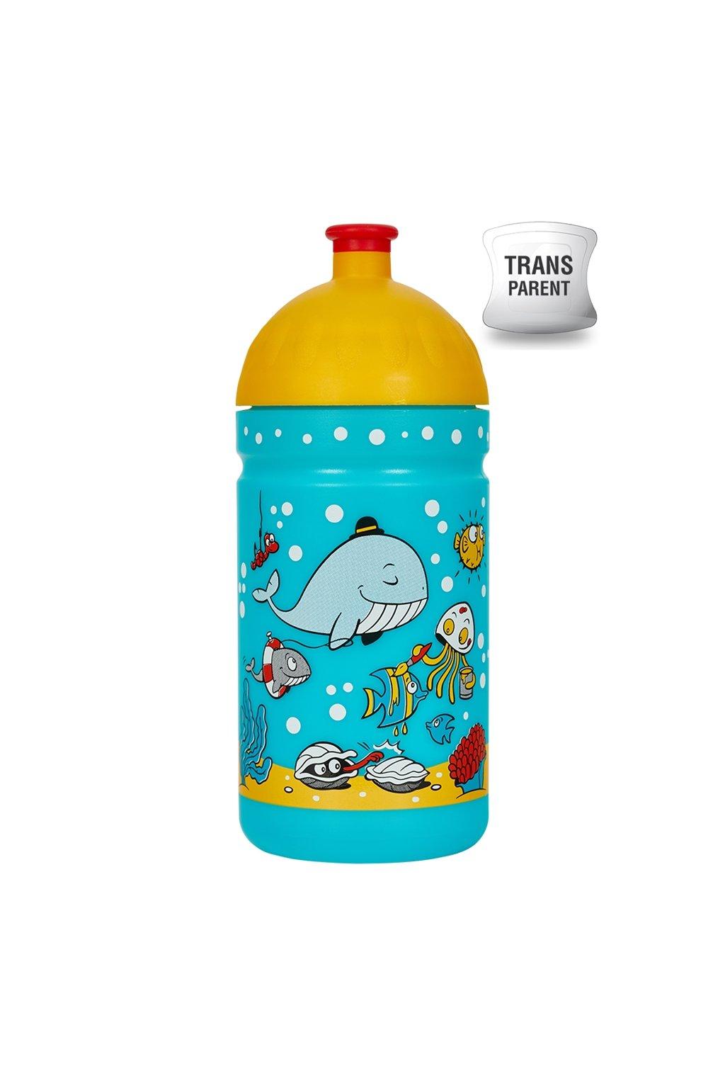Zdrava flasa pre dieta 500 ml morsky svet