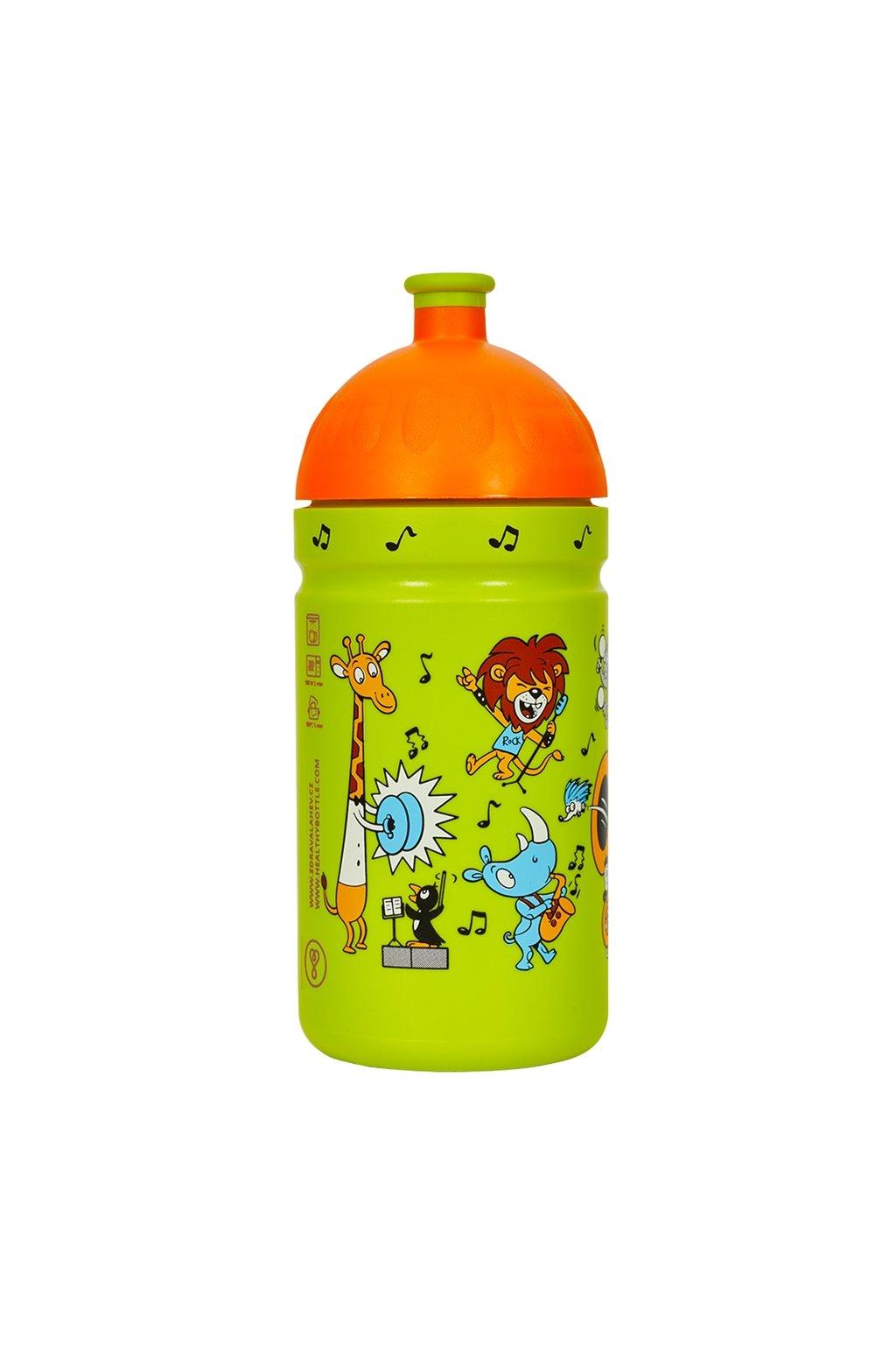 Zdrava lahev detska 500 ml zoo kapela